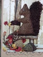 Bennie the Squirrel & Acorns