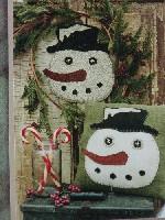 Olde Frosty & Hooked Mat