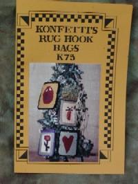 Konfetti's Rug Hook Bags
