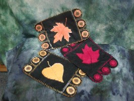 Fall Leaf Penny Rug Kit