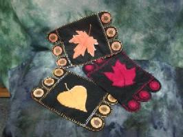 Fall Leaf Penny Rug Kit